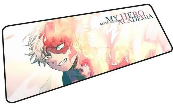 Todoroki - My Hero Academia mousepad 4 / Size 600x300x2mm Official Anime Mousepads Merch