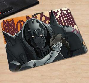 Never Giving Up Alphonse Elric Default Title Official Anime Mousepads Merch