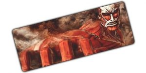 Colossal Fist pad 1 / Size 600x300x2mm Official Anime Mousepads Merch