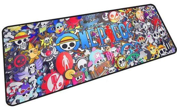Jolly Roger Emblems mousepad 1 / Size 600x300x2mm Official Anime Mousepads Merch