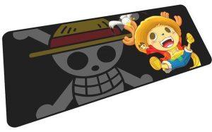 Jolly Roger Chopper mousepad 2 / Size 600x300x2mm Official Anime Mousepads Merch