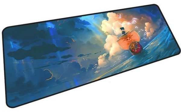 The Thousand Sunny Sailing mousepad 8 / Size 600x300x2mm Official Anime Mousepads Merch