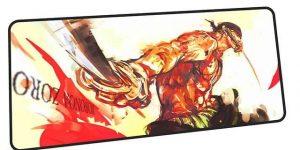 Zoro Santoryu mousepad 2 / Size 600x300x2mm Official Anime Mousepads Merch