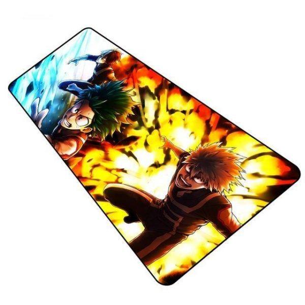 Bakugo Explosion Chasing Midoriya pad 2 / Size 600x300x2mm Official Anime Mousepads Merch
