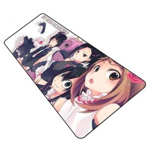 Class 1-A Girls in Fancy Clothes pad 6 / Size 600x300x2mm Official Anime Mousepads Merch