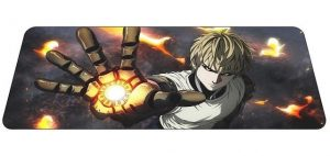Incinerate Genos mousepad 1 / Size 600x300x2mm Official Anime Mousepads Merch