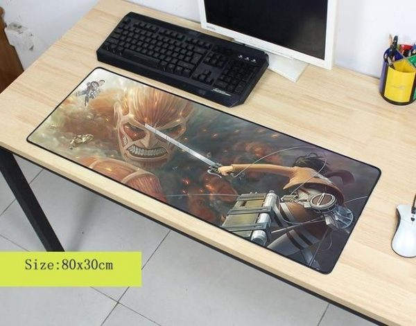 Confronting The Colossal pad 4 / Size 600x300x2mm Official Anime Mousepads Merch