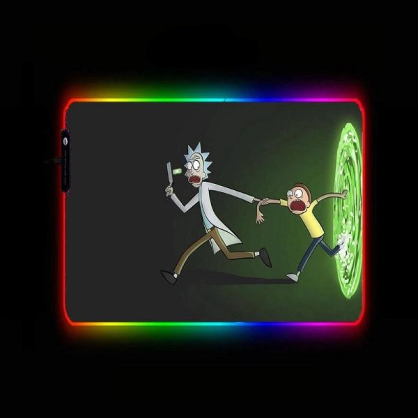 Cartoon Designs - Out - RGB Mouse Pad 350x250x3mm Official Anime Mousepad Merch