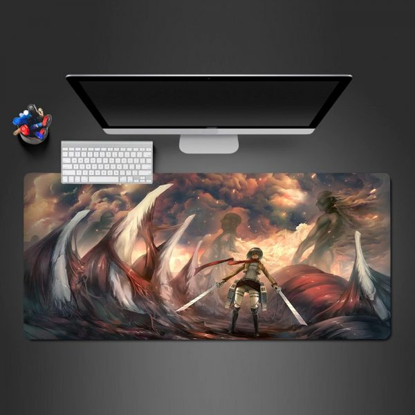 Attack on Titan - Bones - Mouse Pad 350x250x2mm Official Anime Mousepad Merch