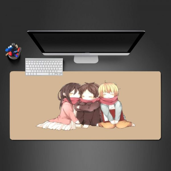 Attack on Titan - Kids - Mouse Pad 350x250x2mm Official Anime Mousepad Merch