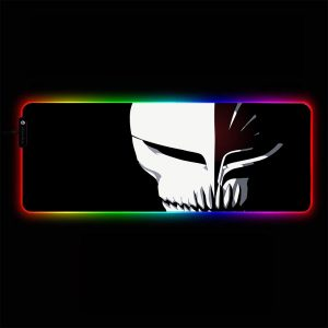Bleach - Hollow Mask - RGB Mouse Pad 350x250x3mm Official Anime Mousepad Merch
