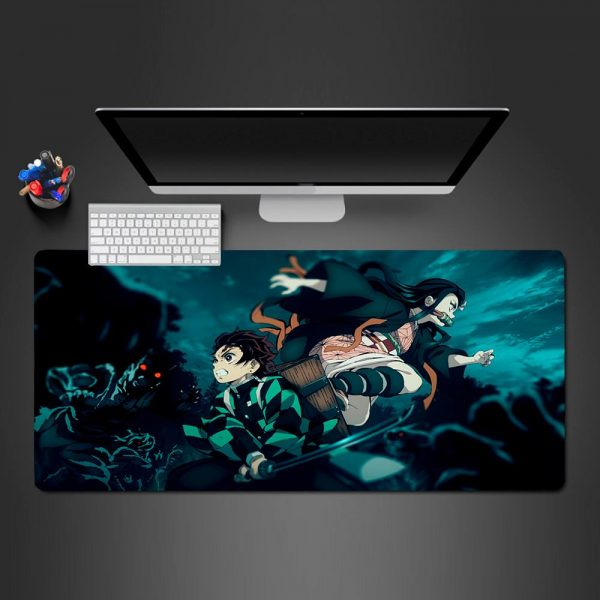 Demon Slayer - Fight - Mouse Pad 350x250x2mm Official Anime Mousepad Merch