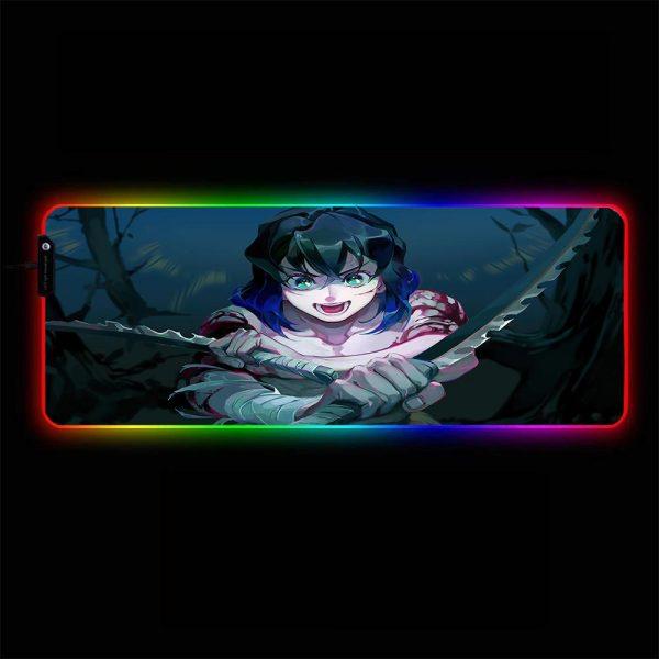 Demon Slayer - Inosuke - RGB Mouse Pad 350x250x3mm Official Anime Mousepad Merch