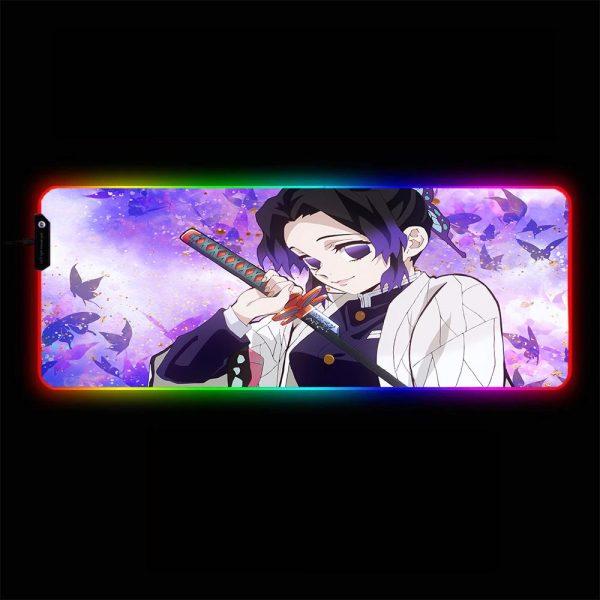 Demon Slayer - Shinobu Kocho - RGB Mouse Pad 350x250x3mm Official Anime Mousepad Merch