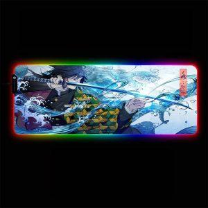 Demon Slayer - Wave - RGB Mouse Pad 350x250x3mm Official Anime Mousepad Merch