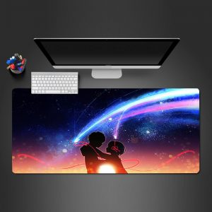 Anime Designs - Love Stars - Mouse Pad 350x250x2mm Official Anime Mousepad Merch