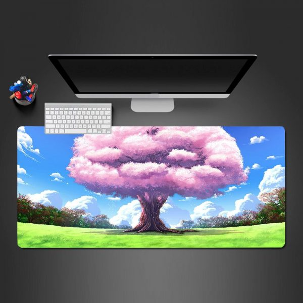 Anime Designs - Tree - Mouse Pad 350x250x2mm Official Anime Mousepad Merch