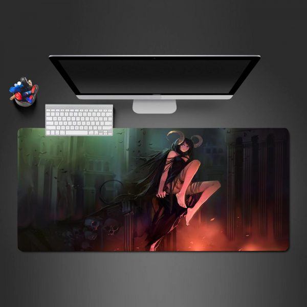 Anime Designs - Demon Girl - Mouse Pad 600x300x2mm Official Anime Mousepad Merch