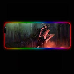 Anime Designs - Demon Girl - RGB Mouse Pad 350x250x3mm Official Anime Mousepad Merch