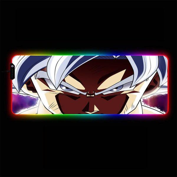 Dragon Ball - Goku Face to Face - RGB Mouse Pad 350x250x3mm Official Anime Mousepad Merch