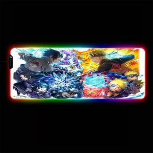 Naruto - Busy - RGB Mouse Pad 350x250x3mm Official Anime Mousepad Merch