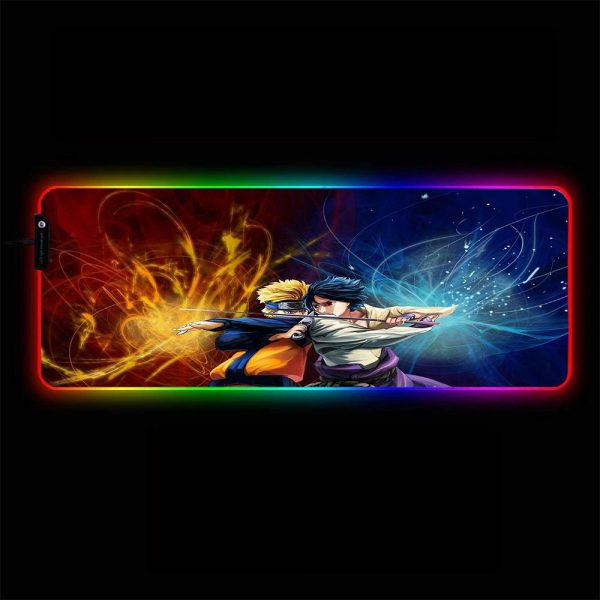 Naruto - Clash - RGB Mouse Pad 350x250x3mm Official Anime Mousepad Merch