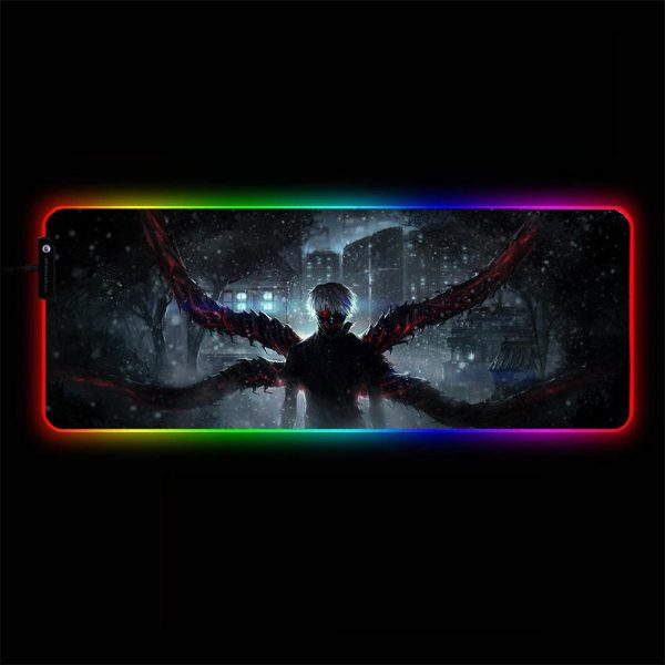 Tokyo Ghoul - Centipede - RGB Mouse Pad 350x250x3mm Official Anime Mousepad Merch