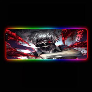 Tokyo Ghoul - Ken Bloody - RGB Mouse Pad 350x250x3mm Official Anime Mousepad Merch