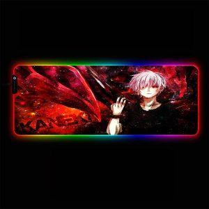 Tokyo Ghoul - Ken Kaneki - RGB Mouse Pad 350x250x3mm Official Anime Mousepad Merch