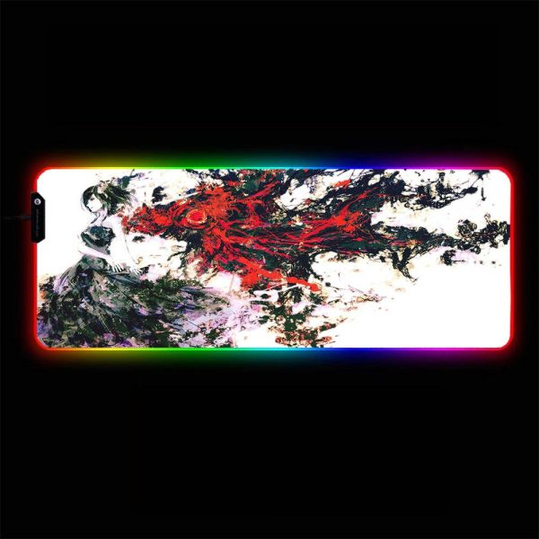 Tokyo Ghoul - Touka Artistic - RGB Mouse Pad 350x250x3mm Official Anime Mousepad Merch