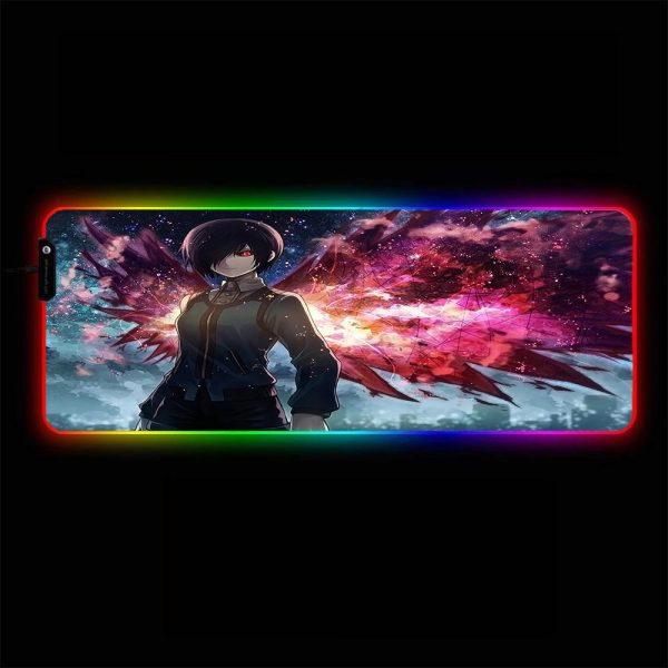 Tokyo Ghoul - Touka Kirishima - RGB Mouse Pad 350x250x3mm Official Anime Mousepad Merch