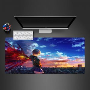 Tokyo Ghoul - Touka Sky - Mouse Pad 350x250x2mm Official Anime Mousepad Merch