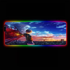 Tokyo Ghoul - Touka Sky - RGB Mouse Pad 350x250x3mm Official Anime Mousepad Merch