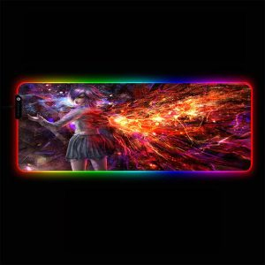 Tokyo Ghoul - Touka Wing - RGB Mouse Pad 350x250x3mm Official Anime Mousepad Merch