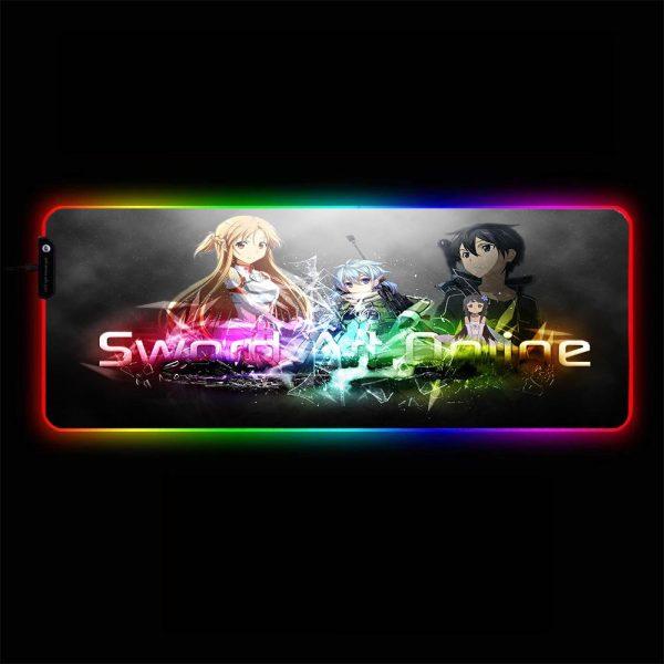 Anime Designs - Sword Art Online - RGB Mouse Pad 350x250x3mm Official Anime Mousepad Merch