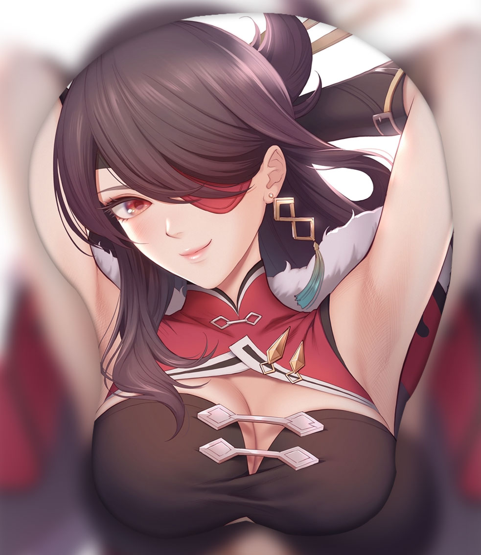 beidou 3d oppai mouse pad ver1 5478 - Anime Mousepads