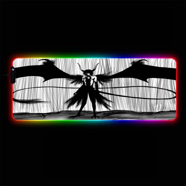 Bleach - Ulquiorra Drawing - RGB Mouse Pad 350x250x3mm Official Anime Mousepad Merch