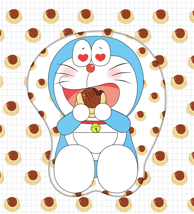 doraemon 3d oppai mouse pad 4852 - Anime Mousepads