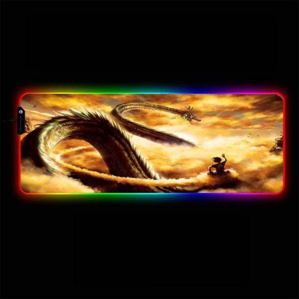 Dragon Ball - Clouds - RGB Mouse Pad 350x250x3mm Official Anime Mousepad Merch