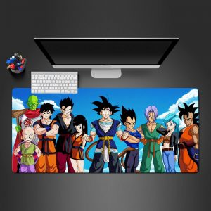 Dragon Ball - Friends - Mouse Pad 350x250x2mm Official Anime Mousepad Merch