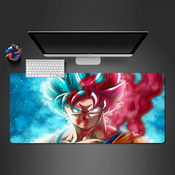 Dragon Ball - God Goku - Mouse Pad 350x250x2mm Official Anime Mousepad Merch