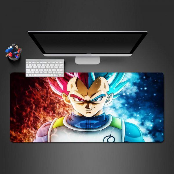 Dragon Ball - God Vegeta - Mouse Pad 350x250x2mm Official Anime Mousepad Merch