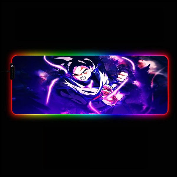 Dragon Ball - Prepare to Fight - RGB Mouse Pad 350x250x3mm Official Anime Mousepad Merch
