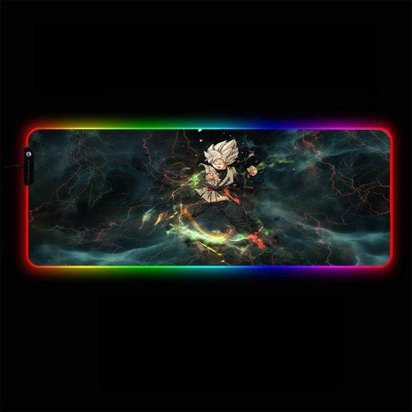 Dragon Ball - Goku Black - RGB Mouse Pad 350x250x3mm Official Anime Mousepad Merch