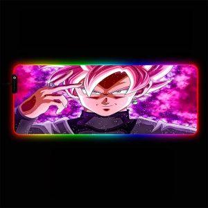 Dragon Ball - Rose Goku Black - RGB Mouse Pad 350x250x3mm Official Anime Mousepad Merch