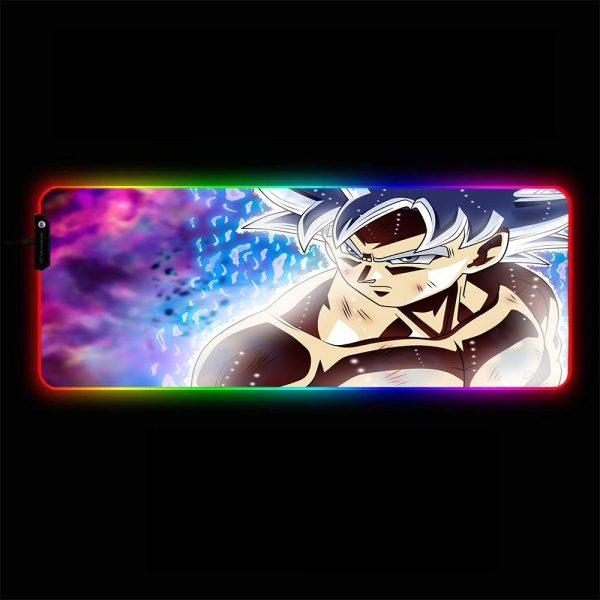 Dragon Ball - UI Goku - RGB Mouse Pad 350x250x3mm Official Anime Mousepad Merch