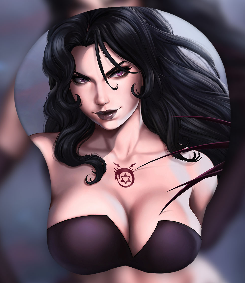 lust 3d oppai mouse pad 5104 - Anime Mousepads