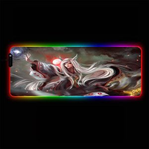 Naruto - Kaguya Otsutsuki - RGB Mouse Pad 350x250x3mm Official Anime Mousepad Merch