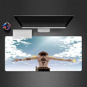 One Piece - Ace - Mouse Pad 350x250x2mm Official Anime Mousepad Merch