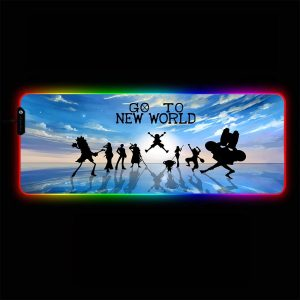 One Piece - New World - RGB Mouse Pad 350x250x3mm Official Anime Mousepad Merch